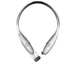 LG Tone Infinim HBS-900 Wireless Stereo Headset, Silver brand new sealed lg tone platinum g5 hbs 1100 bluetooth stereo headset silver