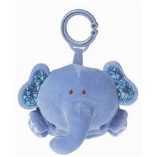 Mary Meyer Brainy Baby Fold Out Friend Hanging Toy, Elephant front-925142