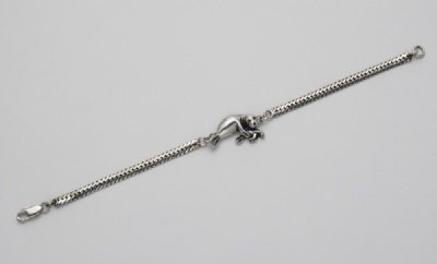 Mother and Baby Manatee Chain Bracelet