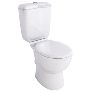 Aqua Ceramics Torino Close Coupled Toilet inc. Soft Close Seat