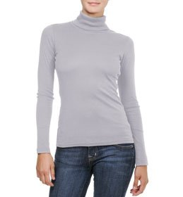 Michael Stars Supima Long Sleeve Turtleneck