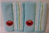 Elmo Washcloth Set