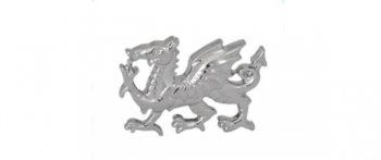 Welsh Dragon Cut-out Tie Tac