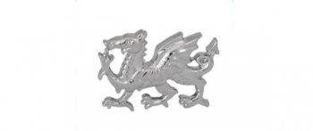 Welsh Dragon Cut-out Tie Tac