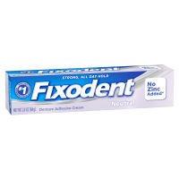 Fixodent Denture Adhesive Cream, Neutral 2.4 oz (68 g)