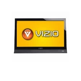 Vizio M190VA 19 Razor LED Backlit HDTV - 720p, 1366 x 768, 20000:1 Dynamic, 60Hz, 5 ms, SRS TruSurround HD, Energy Star, Mercury Free, (Refurbished)