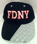 FDNY DIAMOND PLATE BASEBALL CAP