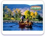 Field and Stream Fisherman Edible Image Cake Topper