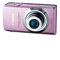 Canon PowerShot SD3500 IS Digital ELPH - Digital camera - compact - 141 Mpix - optical zoom 5 x - supported memory MMC SD SDXC SDHC MMCplus - pink