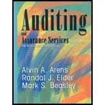 Auditing & Assurance Services (9th, 03) by Arens, Alvin A - Beasley, Mark S - Elder, Randy J [Hardcover (2002)]