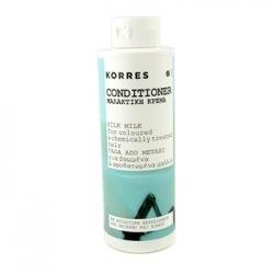 Silk Milk Conditioner For Coloured & Dehydrated Hair - Korres - Hair Care - 250ml/8.45oz
