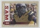 Michael Sam Missouri Tigers (Football Card) 2014 SAGE Hit Gold #132