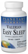 Planetary Herbals - Valerian Easy Sleep 900 mg. - 60 Tablets