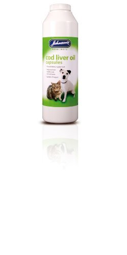 Johnsons Veterinary Products Cod Liver Oil Capsules (800)