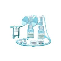 Ameda One-Hand Breast Pump Dual Hygienikit 1