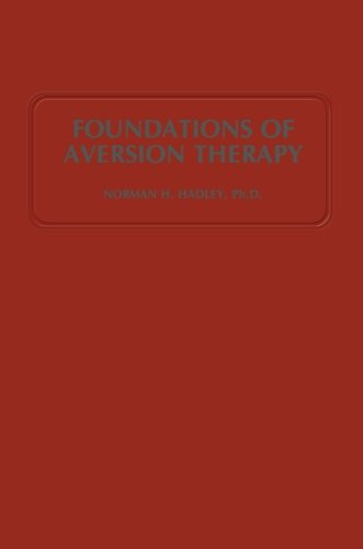Foundations of Aversion Therapy PDF
