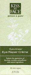 Kiss My Face Organics Eyewitness, Eye Repair Creme, 0.5 Fl Oz