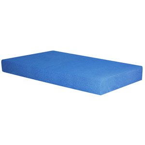 "Spa Sensations 5"" Blue Memory Foam Youth Mattress, Twin"