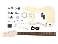 Stellah Unfinished Left Hand P-Bass Guitar Kit Project DIY