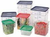 Camware Round Food Storage Containers 4 qt. (RFSCW4) Category: Round Storage Containers and Lids