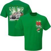 Amazon.com : Men's Dale Earnhardt Jr. Checkered Flag Kelly Green Diet