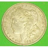 1921 Morgan Silver Dollar (Color: Silver, Tamaño: Medium Sized Silver Dollar)