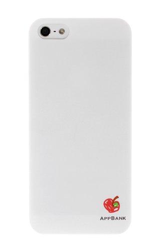 AppBankのうすいiPhone5ケース(ホワイト)