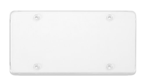 Cruiser Accessories Tuf-Shield Clear Flat License Plate