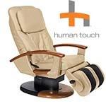 Cream Leather HT-130 HTT-10i Robotic Human Touch Massage Chair