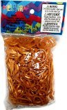 Rainbow Loom Gold Rubber Bands with 24 C-Clips (600 Count) - 1