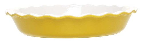 Emile Henry 12 Inch Pie Dish Citron Yellow - Capitolina Samoylova1610