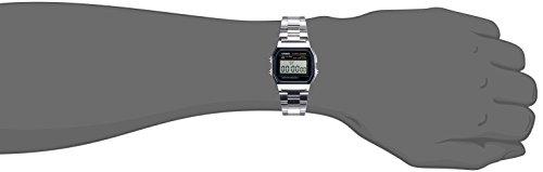 Casio Men'sA158WA-1DF Stainless Steel Digital Watch 3