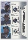 2002 Fleer Hot Prospects Hat Trick 9 HT Anthony Thomas; DeShaun Foster See Image