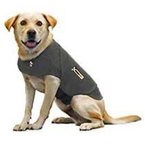 Thundershirt Behavior Modification Shirt For Dogs - Large - Grey