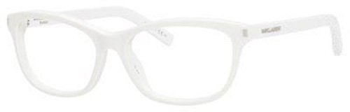 Yves Saint Laurent Yves Saint Laurent Sl 12 Eyeglasses-0FMZ White-52mm