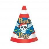 Pirate Party Pirate Party Hats - 8 PKG