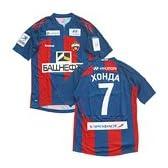 2011-12 CSKAモスクワ ホーム半袖 ユニフォーム #7 HONDA (本田圭佑) (L)