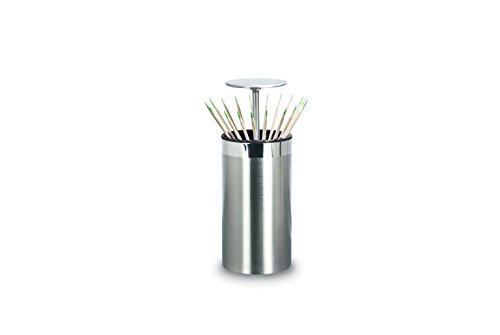 Cuisinox Pop-Up Toothpick Holder, Stainless Steel