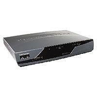 Dual Antennas CISCO877W-G-A-K9 Wireless Router w// Power Supply Cisco 877 W