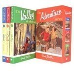 Enid Blyton The Adventure Series three volume box set: The Valley of Adventure, The Castle of Adventure, The Island of Adventure
