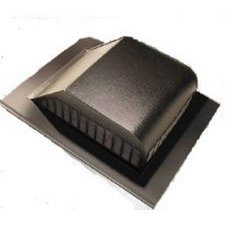 Air Vent #85283 Brown Slant Aluminum Roof Vent