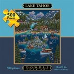 Cheap Fun Dowdle Folk Art Lake Tahoe 500pc 16×20  Puzzles (B004V0I5SE)
