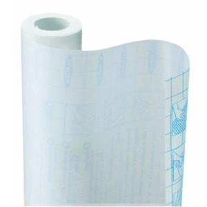 Kittrich Clear Contact Paper, 18 inch x 9 feet - This clear, non-glare film adheres to posters, labels, large maps, etc. for long-lasting protection.