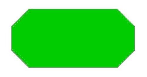 Haftetiketten handauszeichner pour 26 x 12 mm (vert 54.000...