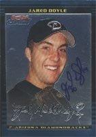 Jared Doyle Arizona Diamondbacks 2002 Bowman Chrome Autographed Hand Signed Trading... by Hall+of+Fame+Memorabilia