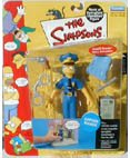 The Simpsons Series 7 Action Figure Officer Marge - 1