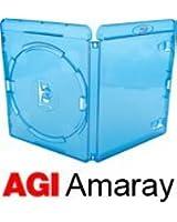 Amaray Lot de 25 boîtiers de Blu-Ray Dos 14mm