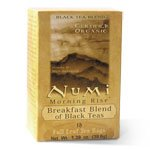 Numi Tea Morning Rise, Breakfast Blend Organic Black Tea, 100 Count
