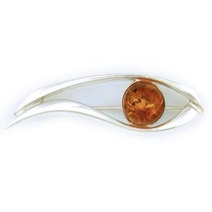 amber brooch hidden gem