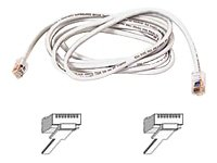 Belkin 7ft 10/100BT CAT5E Patch RJ45M/RJ45M White by Belkin Components